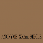 ANONYME XXème SIECLE