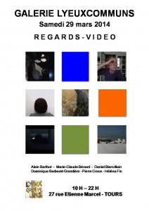 Affiche Regards-Vidéo
