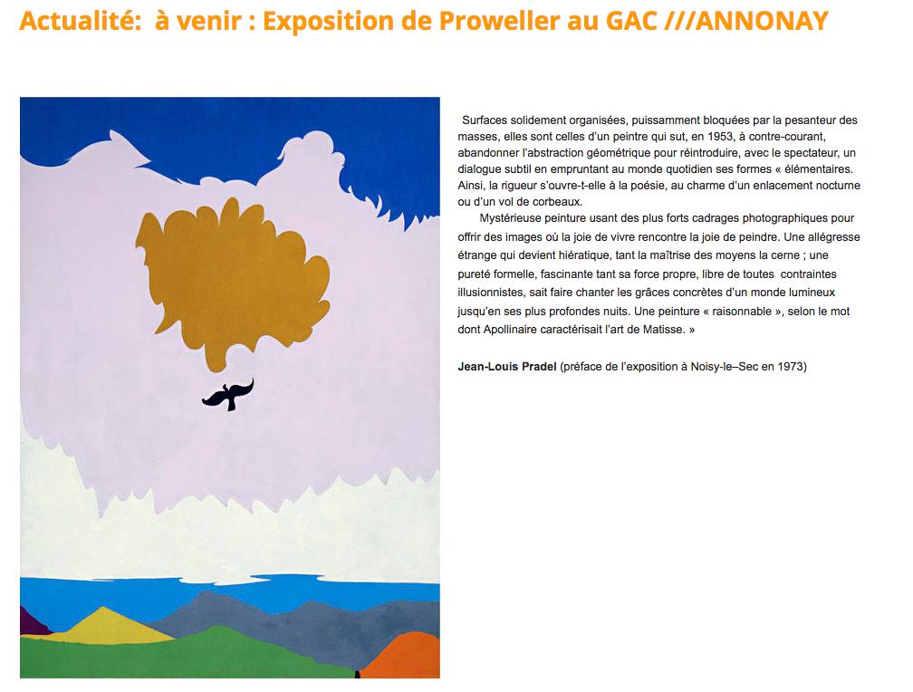 montre un tableau très coloré représentant un horizon de montagnes avec un aigle planant